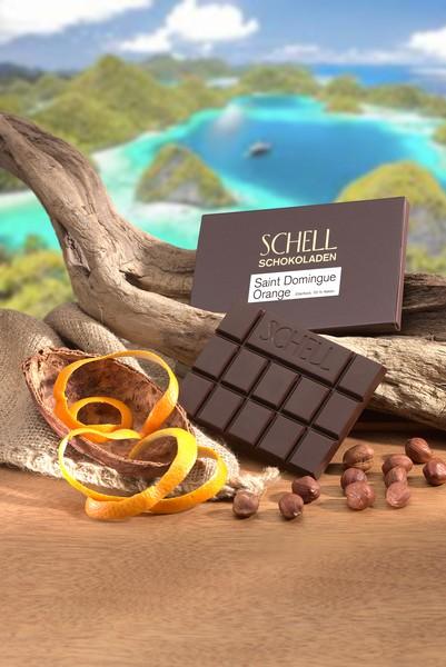 """Schell """"Saint Dominque Orange"""" 50 g"""