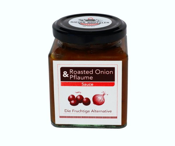 """Rieser Bruzzler """"Roasted Onion& Pflaume"""" Sauce"""